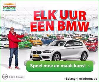 elk uur een BMW