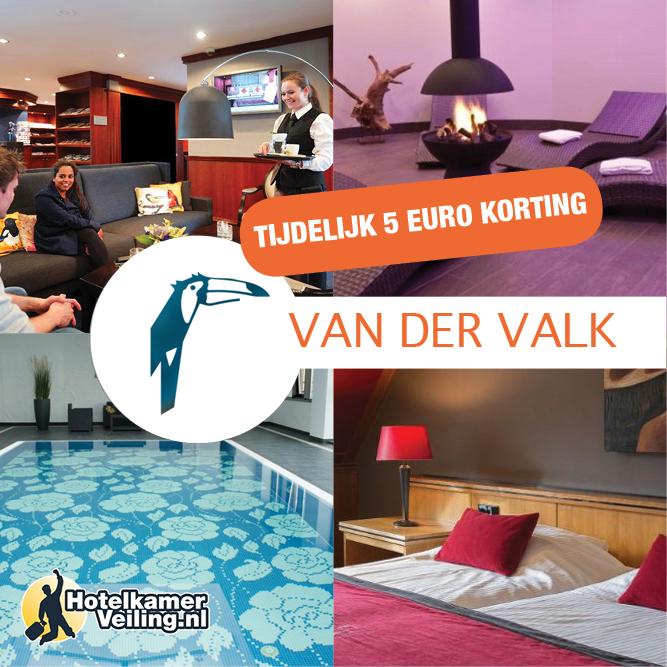 Promotiecode: Hotelkamerveiling – € 5 korting Van der Valk