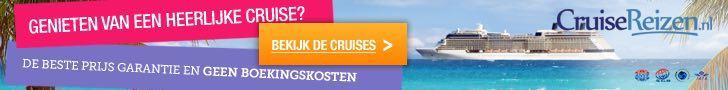 CRUISEREIZEN, Genieten van een heerlijke cruise, geen boekingskosten.