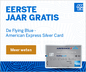 AMEX Silver Flying Blue Card bestellen