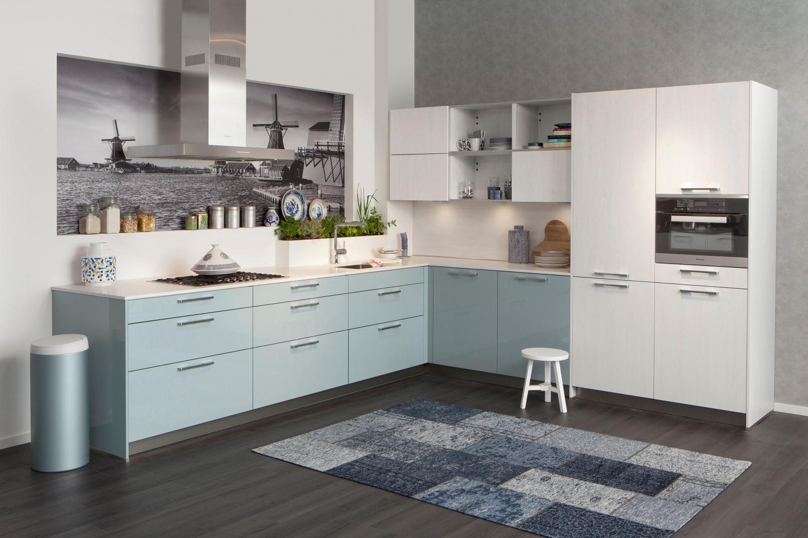 Moderne hoekkeuken keukenkampioen