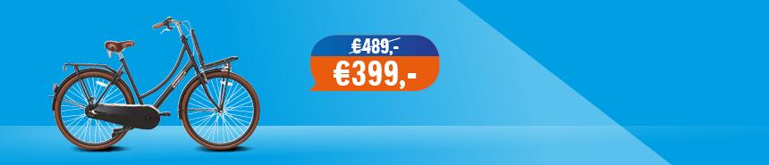 Halfords Transportfiets €90,- korting en gratis verzending
