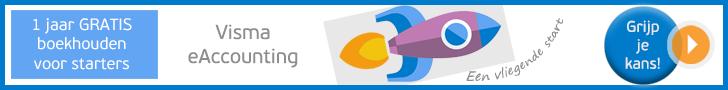 visma eaccounting online boekhoudprogramma gratis voor startende ondernemers