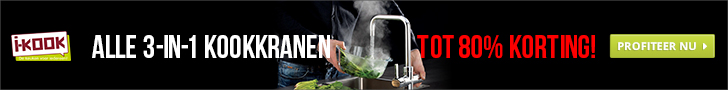 I-KOOK : kokend waterkranen