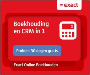 Boekhoudprogramma Exact Online