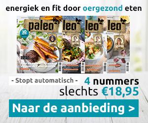 Paleo Magazine - 4 nummers voor 18,95 euro