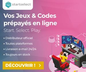 Offre de Jeux et Codes Play-store chez Startselect France