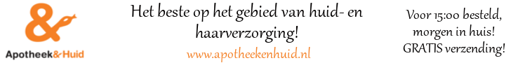 Kortingscode Apotheek & Huid