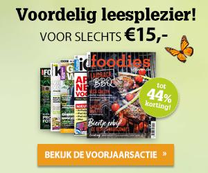 Voorjaarsactie - Alle abonnementen voor 15 euro