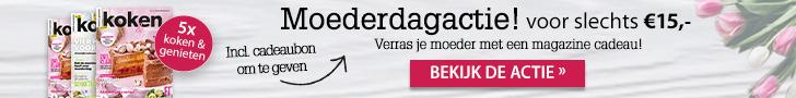 Jouw favoriete blaadje voor 15 euro - Moederdagactiee