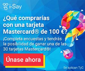 ¿Que comprarías con una tarjeta MasterCard® del 100€