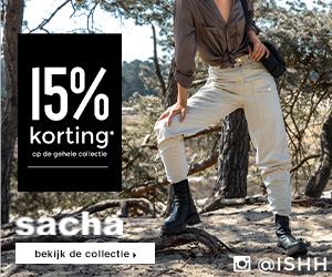 Sacha - 15% korting op alles