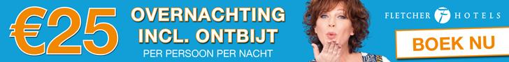 Fletcher hotels 25 euro actie