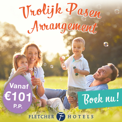 Vrolijk Pasen Arrangement bij Fletcher Hotels