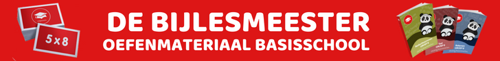 DeBijlesMeester, Oefenmateriaal Basisschool.