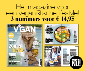 V'gan Lifestyle Magazine 3 nummers voor 14,95 euro