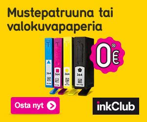 Mustetta tulostimeesi 0 € - Inkclub.com