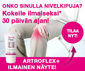 ArtroFlex+ 30 päivän kokeilu (150 ml tuubi) hintaan 0€
