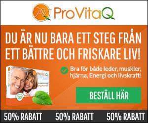 Beställ ProVitaQ 30 dagars välkomstpaket -50% rabatt