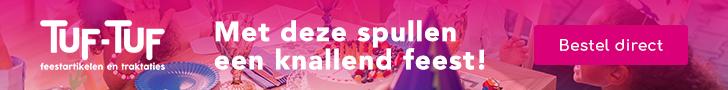 Promotiecode: Tuf-tuf.nl – 20% griezelige korting