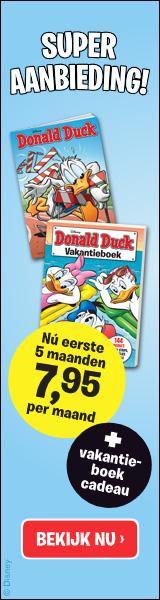 Donald Duck abonnement met Gratis Vakantieboek 2020
