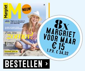 Margriet 8x voor 15 euro