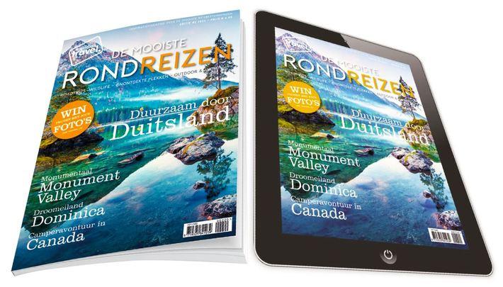 Abonnement Reismagazine De Mooiste Rondreizen
