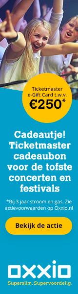Bij Oxxio Ontvang je bij overstap een gratis Ticketmaster giftcard t.w.v. € 150,-.Ticketmaster levert kaartjes voor concerten, evenementen en festivals.