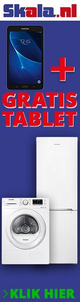 Gratis Samsung Tablet bij een Skala bestelling!