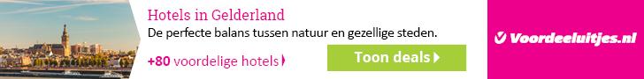 Voordeeluitjes - Kampioen in arrangementen : Gelderland aanbiedingen