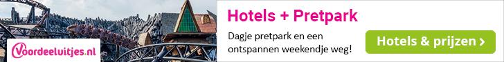 Voordeeluitjes - Kampioen in arrangementen : Pretpark & hotel
