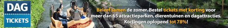 DAGTICKETS, attractieparken, dierentuinen, dagattracties, kortingen tot 78%, Bestel Hier!