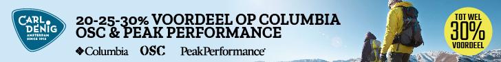Carl Denig – 40% korting op Peak Performance Wintersportkleding.