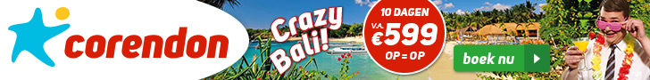 Strandvakanties naar Bali in 2020