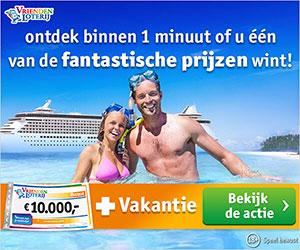 Droomvakantie winnen t.w.v. € 7500.-