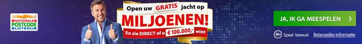 Gratis bingo kaarten Postcode Loterij