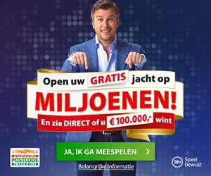 Postcode loterij lot kopen