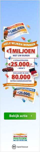 Straatprijs Postcodeloterij winnen? Hele wijken winnen