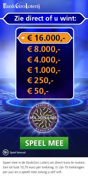 Bankgiro Miljonairs de beste Bankgiro loterij actie!