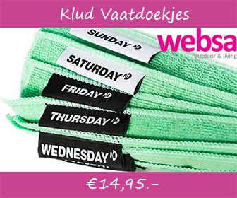 Websa.nl : Klud Vaatdoekjes.
