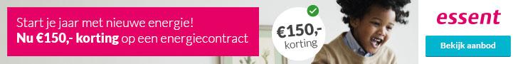 Essent Energie Review €150,- Korting Jaarcontract 2018/2019