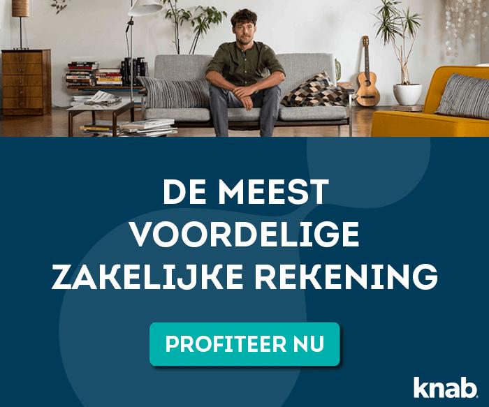 Bij Knab ontvang je gratis €50,- cadeau op je bankrekening + 3 maanden gratis. Profiteer van deze actie en bespaar op je bankkosten.